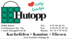 Hutopp Klötze