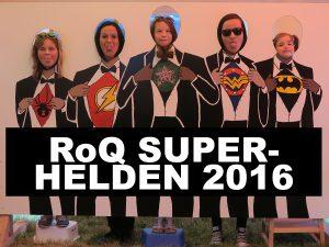 Eure Fotos aus dem Fotospecial 2016. Mit unserer Hilfe konntet Ihr Euch in RoQ-Superhelden verwandeln.
