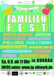 Familienfetzt 2017 in Kunrau auf dem Kreativhof